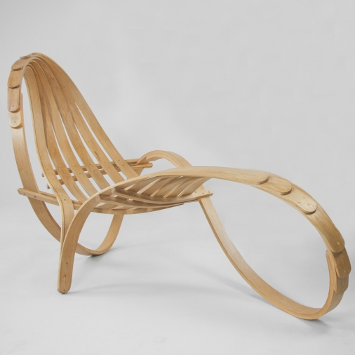 Chaise Lounge Oak