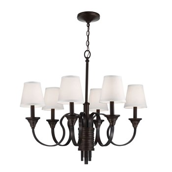 Elstead Arbor Creek  6lt Chandelier