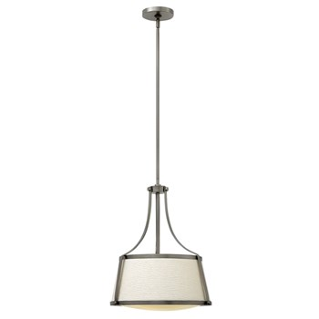 Elstead Charlotte  Pendant, Antique Nickel