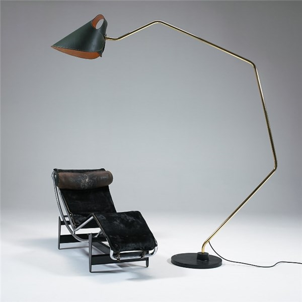 Floor Lamp Totally Leather