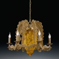 Rococo  7-Light Chandelier