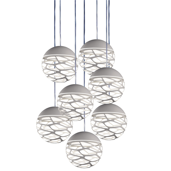 Kelly Cluster SO3 7 Spheres Suspension Light