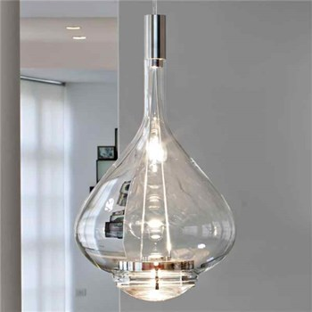 Studio Italia Design  Sky Fall  SO Large Suspension Light, Crystal