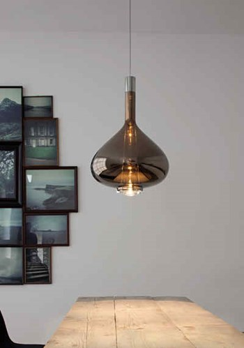Studio Italia Design  Sky Fall  SO Large Suspension Light, Copper