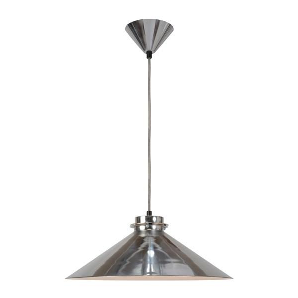 Original BTC Codie  Pendant Light Polished Aluminium