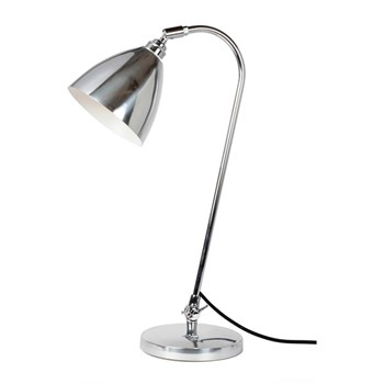 Original BTC Task  Solo Table Light, Polished Aluminium