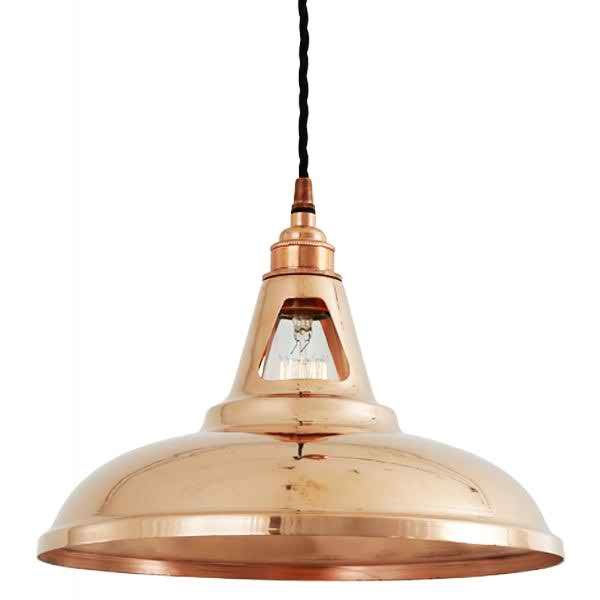 Minsk Industrial Copper Pendant