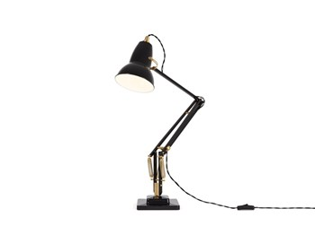 Anglepoise Original 1227 Brass  Desk Lamp with Spring, Deep Slate