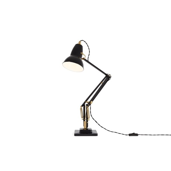 Anglepoise Original 1227 Brass  Desk Lamp with Spring