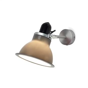 Anglepoise Type 1228  Rotatable Wall Light in Aluminium, Granite Grey