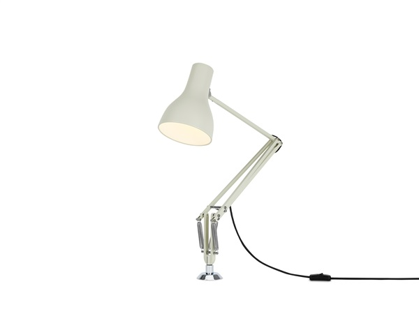 Type 75 Adjustable Desk Insert Lamp and Spring
