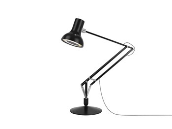 Anglepoise Type 75 Giant  Floor Lamp With Spring, Jet Black