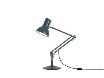 Anglepoise Type 75 Mini  Adjustable Desk Lamp with Spring, Slate Grey