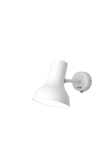 Type 75 Mini Adjustable Wall Light in Aluminium