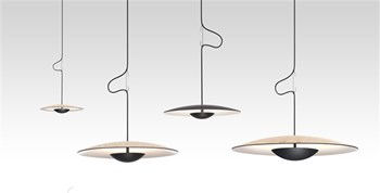 Marset Ginger  42 RSC, Pendant Light With Recessed Canopy