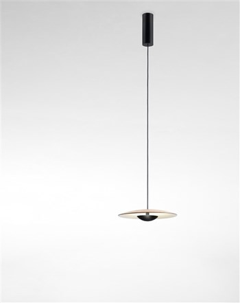 Marset Ginger  32, Pendant Light With Wood Diffuser, Oak Dimmable