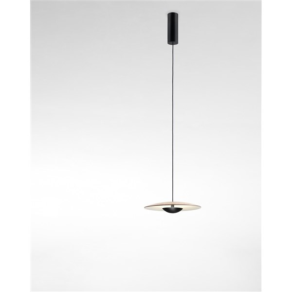 Marset Ginger  32, Pendant Light With Wood Diffuser