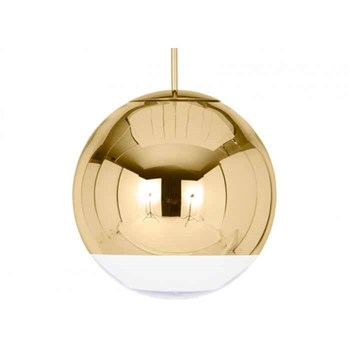 Tom Dixon Mirror Ball  40cm Pendant Light, Gold