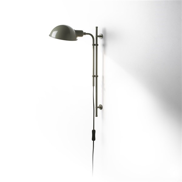 Marset Funiculi  A Downward Wall Light with Lacquered Aluminium Shade