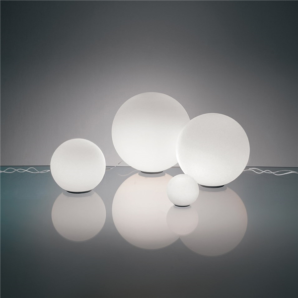 25 Spherical Glass Table Lamp