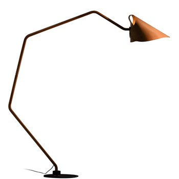 Floor Lamp Totally Leather, Natural