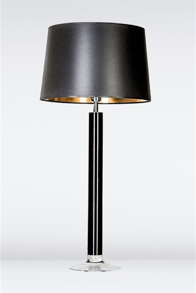 Fjord Black Large Glass Table Lamp