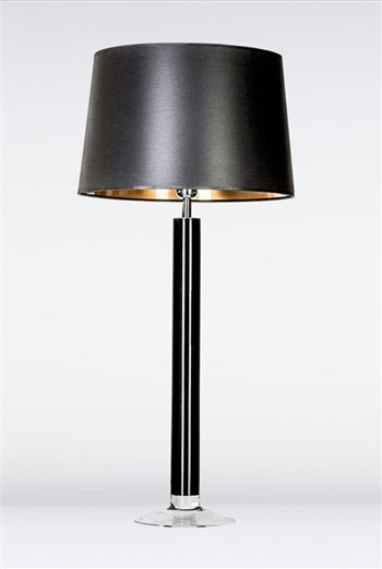 4 Concepts Fjord  Black, Large Glass Table Lamp
