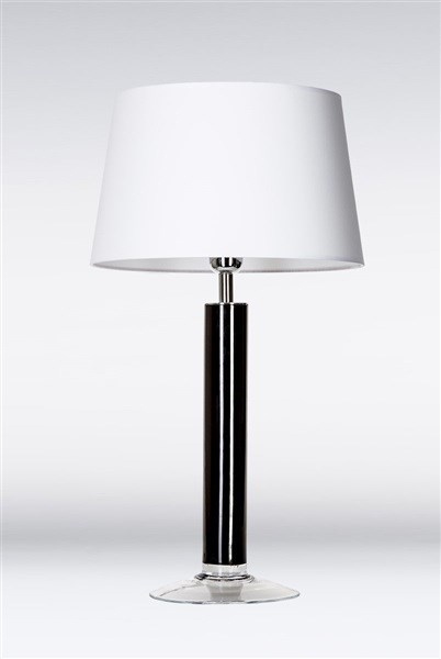 4 Concepts Fjord  Black with Medium Glass Table Lamp