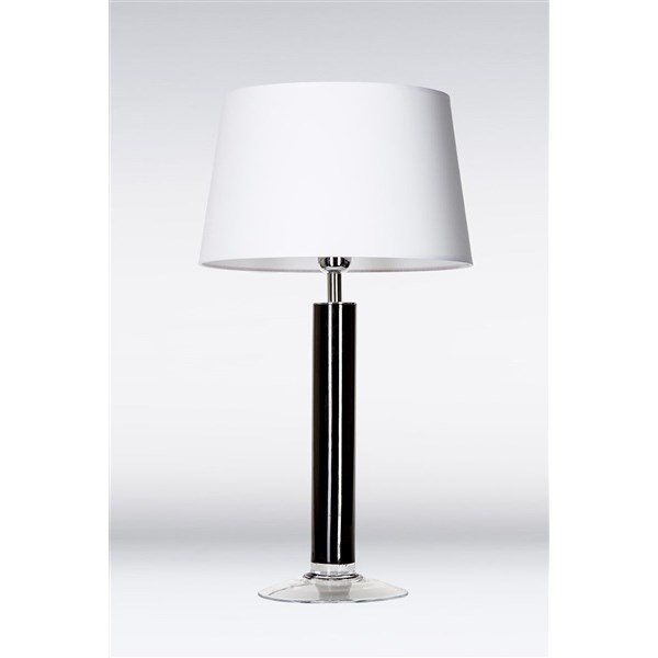 4 Concepts Fjord  Black, Medium Glass Table Lamp