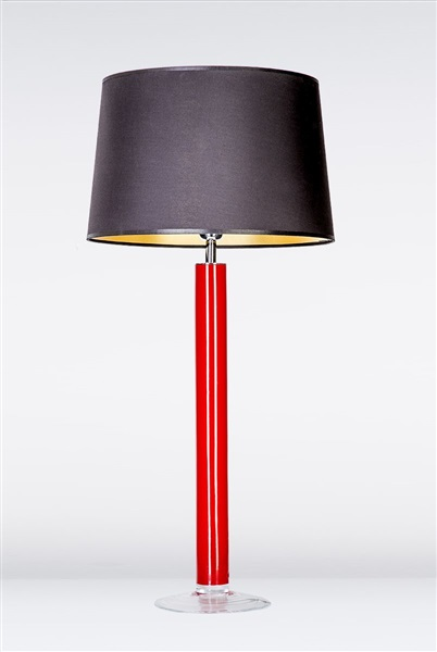 Fjord Red Large Glass Table Lamp