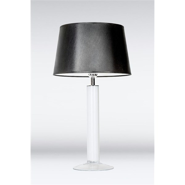 4 Concepts Fjord  White, Medium Glass Table Lamp