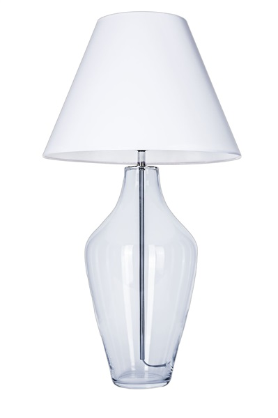 Small Shade Glass Table Lamp
