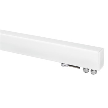 Linealight Paseo  L, Modular LED Wall Light in Opal, 3000K
