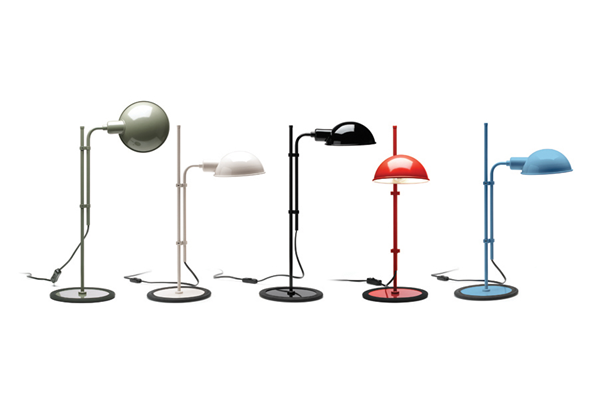 Funiculi S Table Lamp With Funicular Action