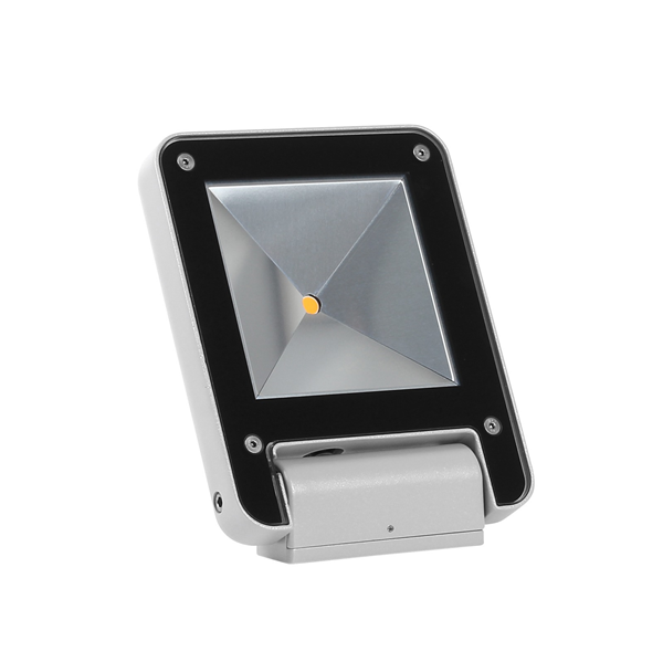 1 Small 4000K LED Wide Flood Light