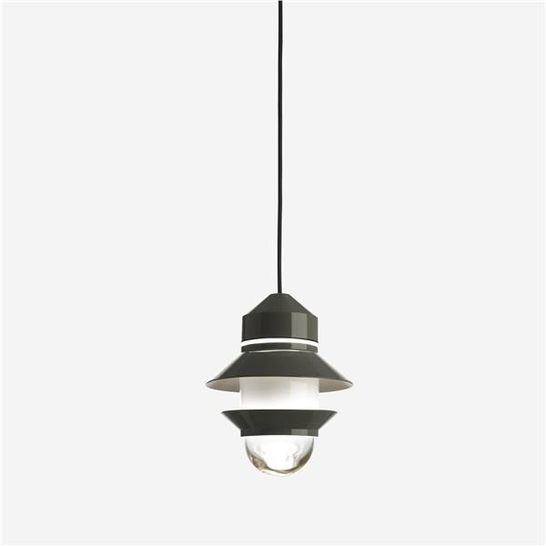 Marset Santorini  Outdoor Pendant with Pressed Glass Diffuser