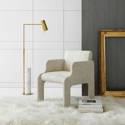 Visual Comfort Alma Adjustable Floor Lamp