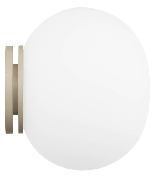 Glo-Ball Mini Ceiling Wall or Mirror Mounted Light White