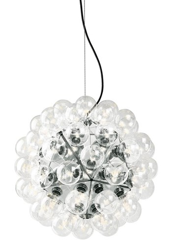 Flos Taraxacum  88, Suspension Pendant Light Polished Aluminium, Large