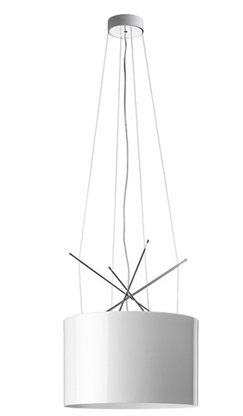 Flos Ray  S, Suspension Pendant Light, White