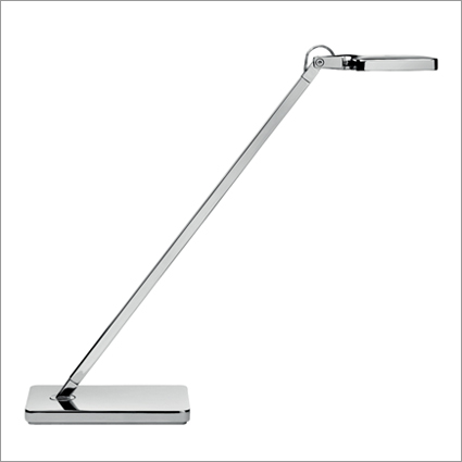 Kelvin Mini Adjustable Chrome LED Table Lamp Aluminium Pressofused Head