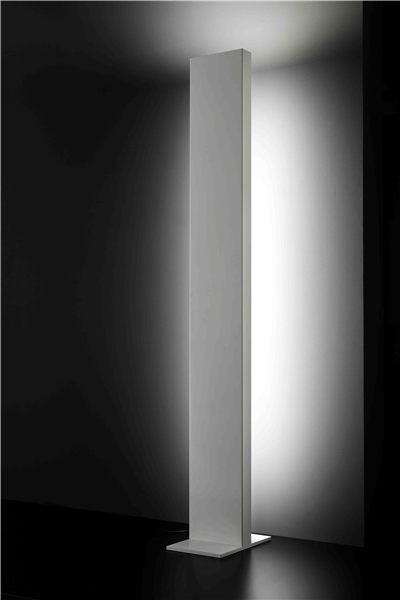 Menir Floor Lamp Up Light and Diffused Front Light