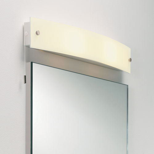 Curve Frosted Glass Wall Light