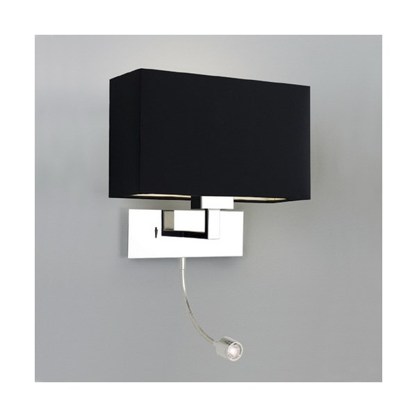 Astro park lane grande led modern wall light with led light switched aloadofball Image collections