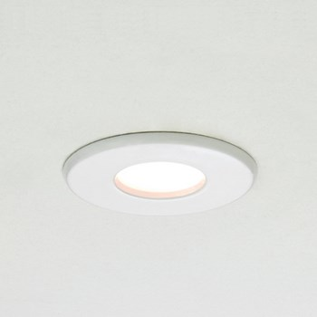 Astro Kamo  Chrome, Halogen recessed downlight, White