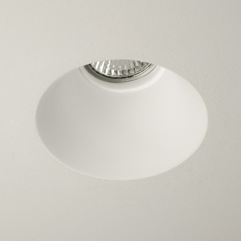 Astro Blanco  Round Recessed Interior Downlight, Fixed