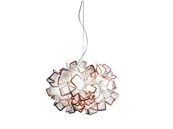 Slamp Clizia  Suspension Lamp, Orange
