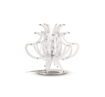 Slamp Comodina  Small Table Lamp, Transparent