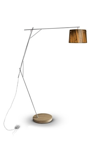 Slamp Woody  Dimmable Floor Lamp, Orange