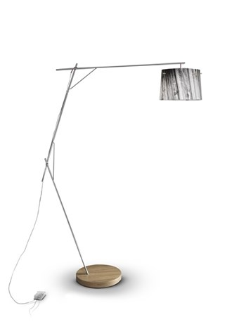 Slamp Woody  Dimmable Floor Lamp, White